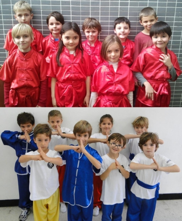 Mighty Kung Fu Younger Students & French International School Students